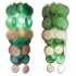 big green murano glass, wall lights