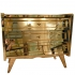 chest of drawers, mirrored glass