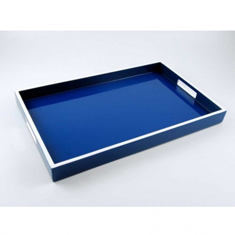 breakfast tray, true blue