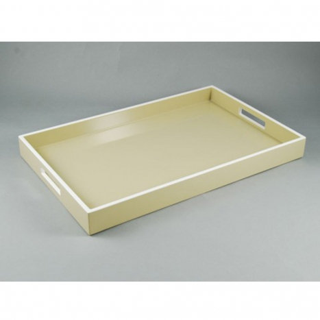 breakfast tray, taupe
