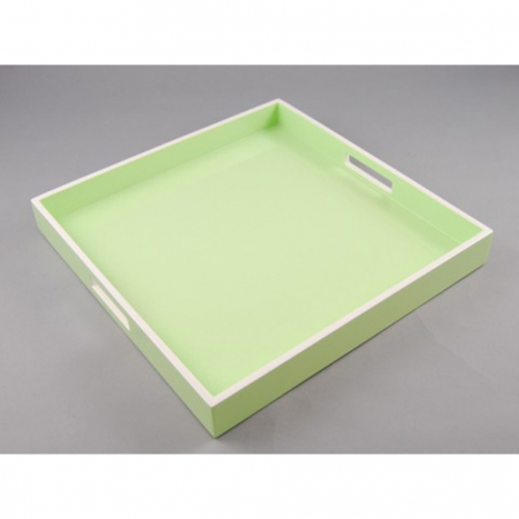 serving tray, pistachio