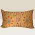 suzani cushion, tulips
