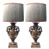 barock table lamps, SOLD
