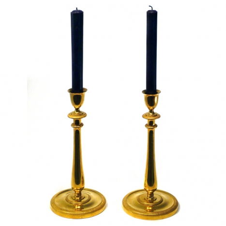 candle sticks, france 19th c