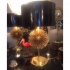 BRASS SPUTNIK TABLE LAMPS,