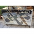 mirrored murano glass, chest of drawers
