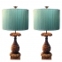 pineapple table lamps, maison jansen